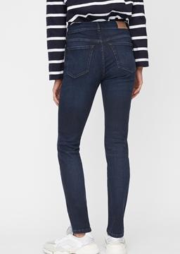 Снимка на Дамски Slim дънки с висока талия