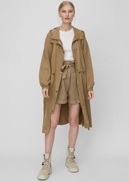 Picture of Parka in lyocell twill fabric