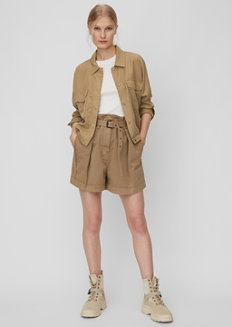 Picture of Indoor jacket in lyocell twill fabric