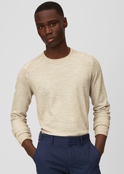 Picture of Pullover, crew neck, structured