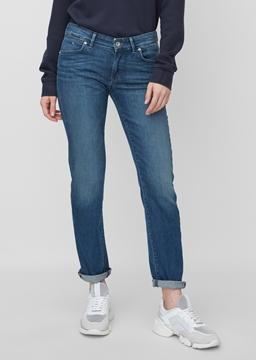 Снимка на ALBY straight дънки със средна талия