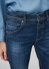 Снимка на Дамски дънки със средна талия модел Boyfriend