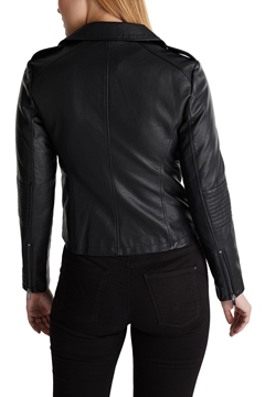 Picture of Faux leather biker jacket