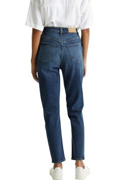 Picture of Button-fly  vintage high rise jeans