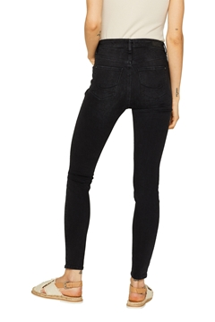 Picture of Stretch jeans with a high waistband and organic cotton   high rise