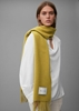 Снимка на Дамски едноцветен шал от рециклирана вълна