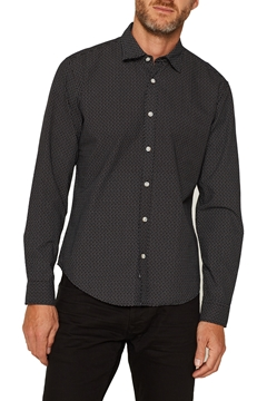 Picture of Shirt with polka dots SLIM