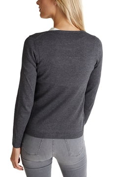 Picture of Basic crewneck jumper, organic cotton