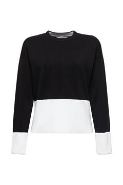 Снимка на Дамски памучен пуловер