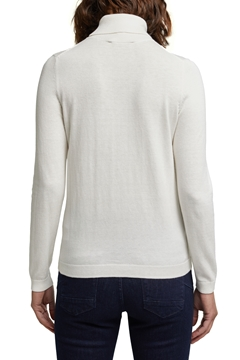 Picture of Polo neck jumper with organic cotton