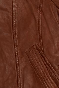 Снимка на Дамско кожено яке