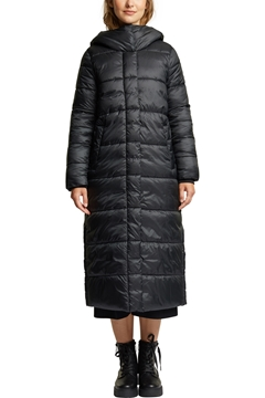 Picture of Recycled: quilted coat with a hood