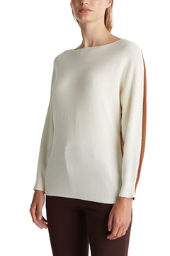 Picture of Blended lyocell: TENCEL™: Ribbed jumper