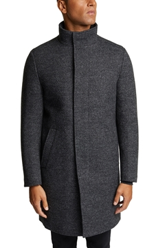 Picture of Wool blend: padded coat in a 2-in-1 look