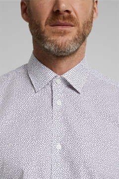 Picture of Print shirt made of 100% organic, Slim