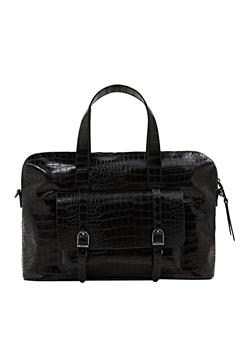 Снимка на Дамска бизнес чанта от изкуствена кожа