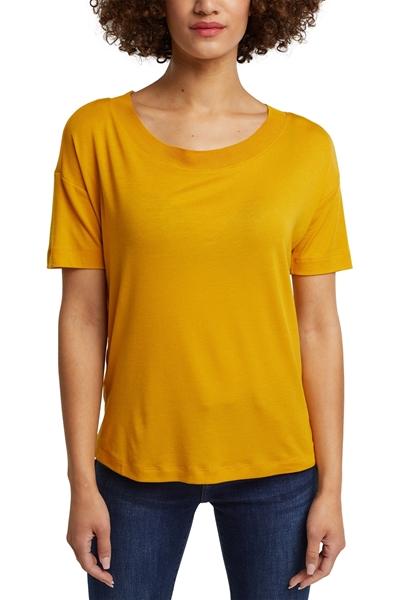 Снимка на Дамска тениска от стреч лиосел