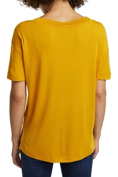 Picture of 2nd skin T-shirt made of stretch lyocell