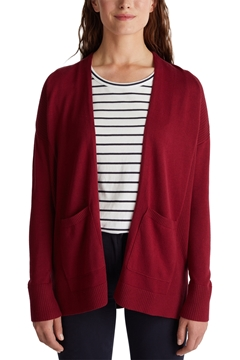 Picture of Open cardigan with organic cotton