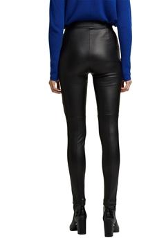 Снимка на Дамски панталони от изкуствена кожа
