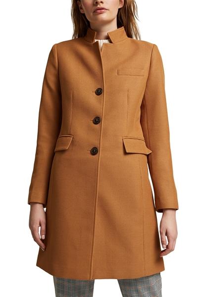 Снимка на Дамско вталено текстурирано палто