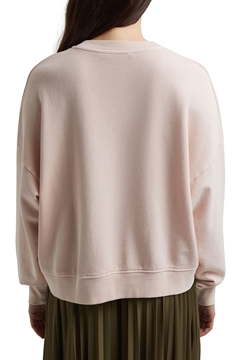 Picture of Boxy sweatshirt in 100% organic cotton