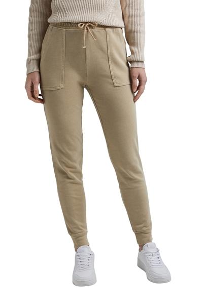 Снимка на Дамски спортен панталон със средновисока талия от органичен памук