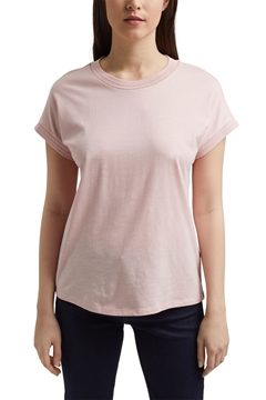 Picture of T-shirt made of organic cotton and TENCEL™/modal Straight fit