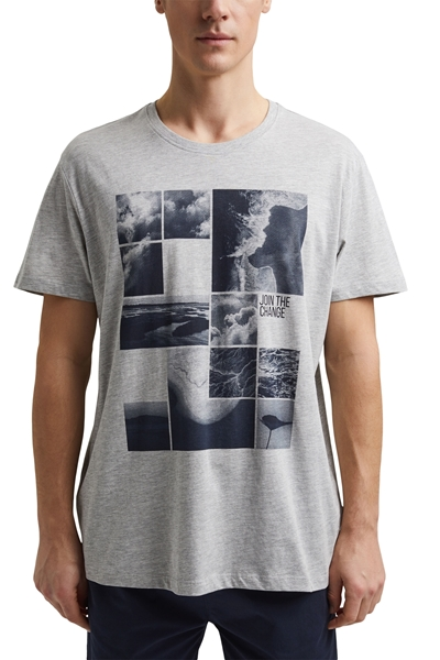 Снимка на Мъжка тениска от органичен памук REGULAR straight fit