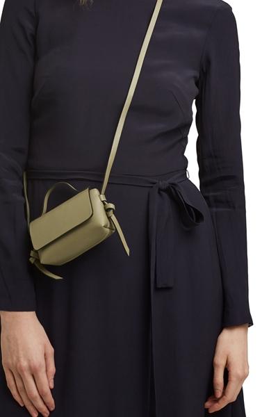 Снимка на Веган: Мини дамска чанта през рамо