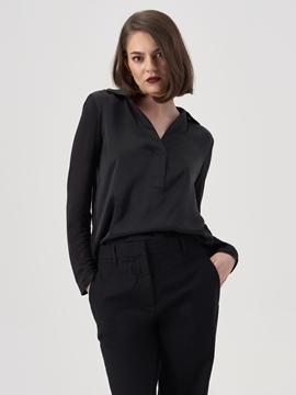 Снимка на Дамска копринена блуза