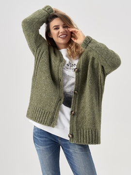 Picture of Cardigan In a new wool/alpaca blend