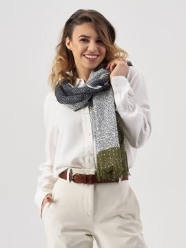 Снимка на Scarf, woven, super soft cotton mo 101819502343