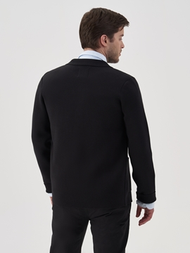 Picture of Knitted blazer made of compact cotton