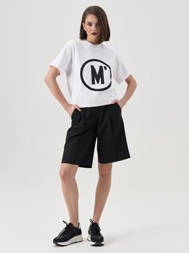 Picture of Bermuda shorts Made of fine gabardine fabric