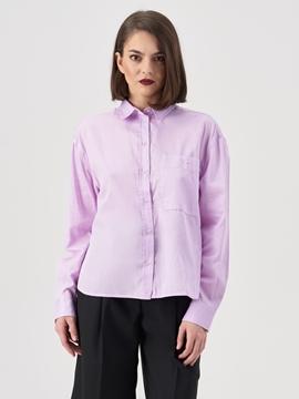 Снимка на Дамска риза Boyfriend от органичен памук