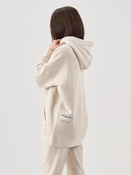 Снимка на Дамски суитшърт с качулка от органичен памук