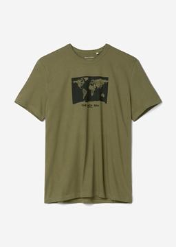 Снимка на SUSTAINABLE Мъжка тениска от органичен памук Regular fit