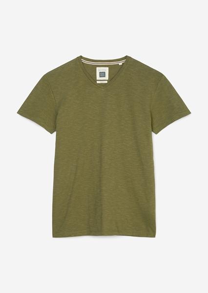 Снимка на SUSTAINABLE Мъжка тениска от органичен памук Shaped fit