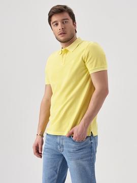 Снимка на Мъжка поло тениска Regular fit от органичен памук