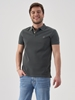 Picture of Short-sleeved polo shirt in piqué fabric regular – organic cotton