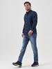 Снимка на SUSTAINABLE Мъжка риза от органичен памук Shaped fit