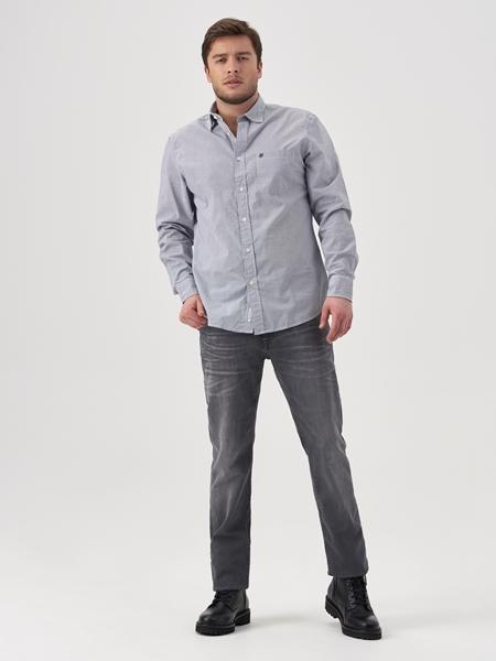 Снимка на Мъжки дънки SJÖBO slim с ниска талия