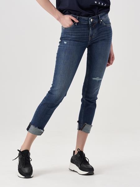 Снимка на Дамски дънки SIV skinny с ниска талия