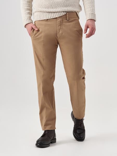 Снимка на Мъжки чино панталон от еластичен кепров плат