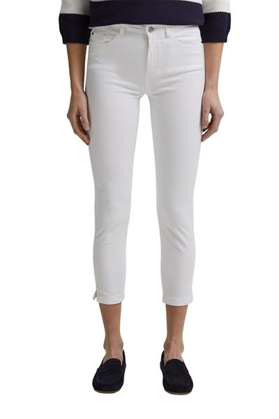 Снимка на Дамски панталон Capri SKINNY със средна талия