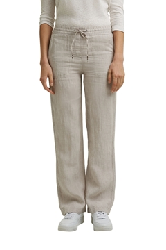 Picture of Made of linen: straight-leg tracksuit bottoms