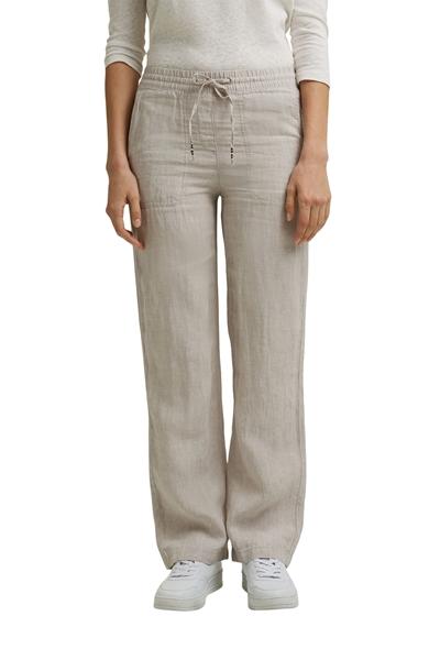 Снимка на Дамски панталон от лен