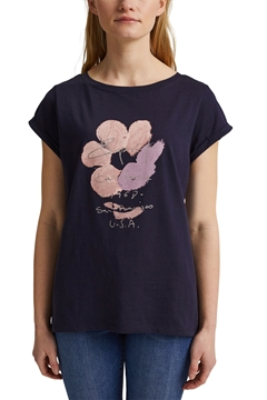 Picture of SUSTAINABLE Printed T-shirt, 100% organic cotton
