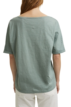 Picture of SUSTAINABLE Line-art T-shirt, organic cotton